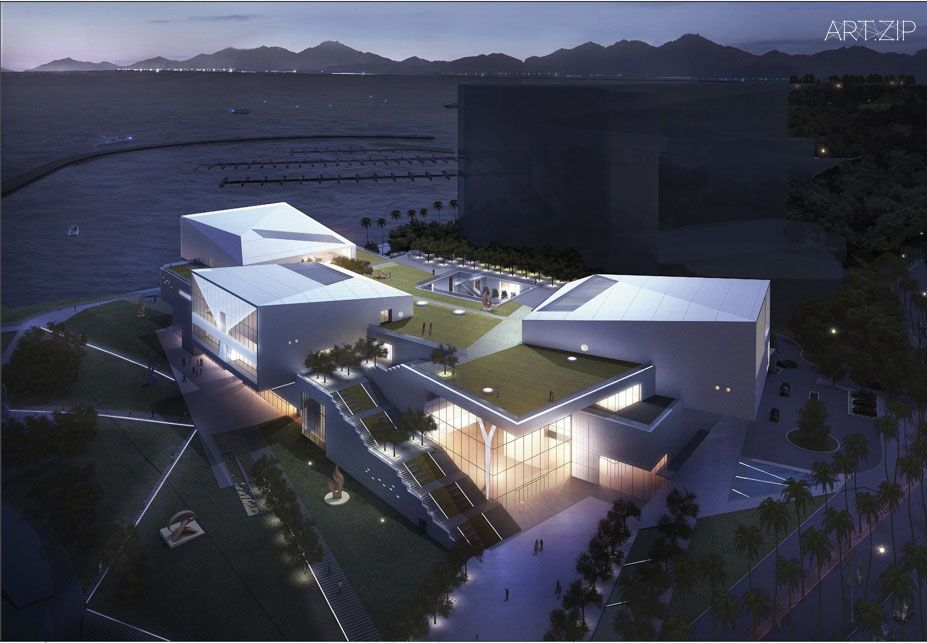 Design Society rendering.(c)Maki and associates