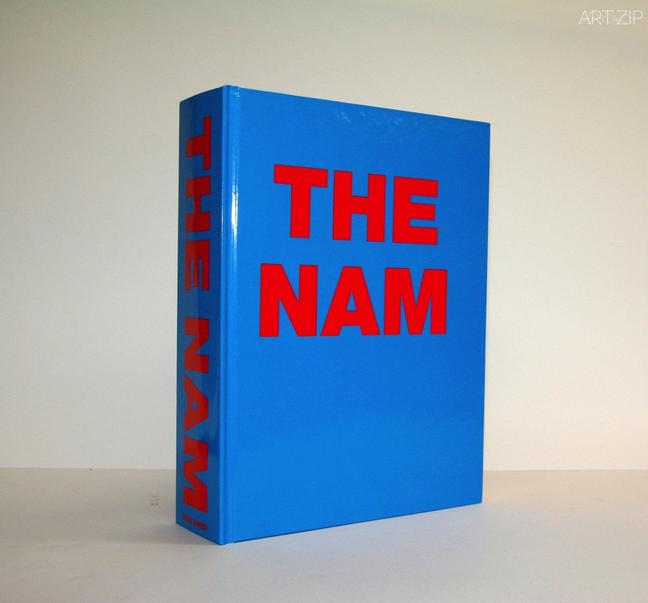 Fiona Banner, THE NAM, 1997 (1,000-page hardback published by Frith Street Books & The Vanity Press with assistance from Arts Council England © and courtesy the artist