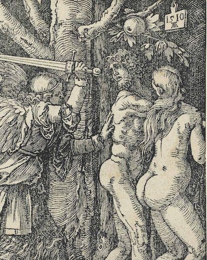 无界艺术藏品丢勒《人类的堕落》,1510